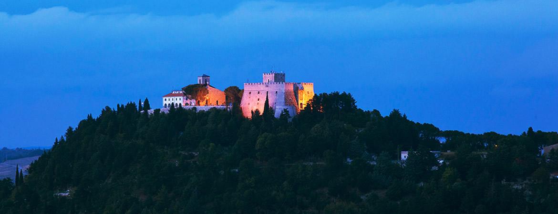 Castello Monforte di Campobasso in Molise